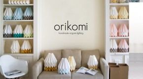 Handcrafted Origami Inspired Orikomi Lighting