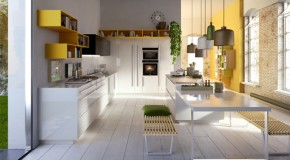 Cutting Edge Creative Sleek Kitchen Designs by Snaidero Kitchen