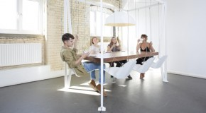 Playtime and Dining Time All-in-One With the Swing Table