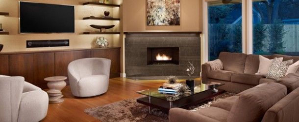 20 Beautiful Living Room Layout with Two Focal Points