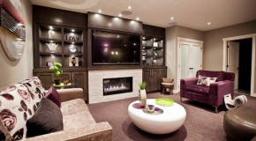 20 Contemporary Windowless Living Rooms