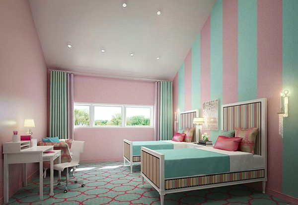 Couleur Peinture Recyclee Rona : 20 Fashionable Turquoise Bedroom Ideas  Home Design Lover