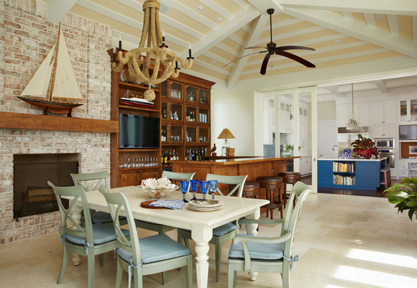 20 nautical home decoration in the dining room | home design lover
