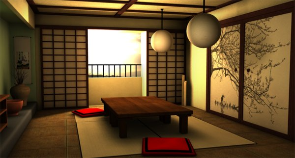 20 japanese home decoration in the living room home for Japanese living room ideas