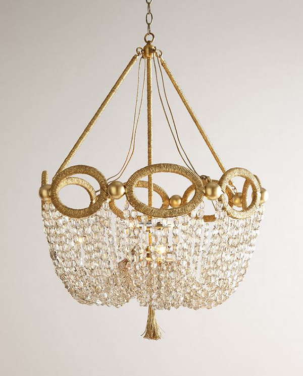 glass beads Chandelier