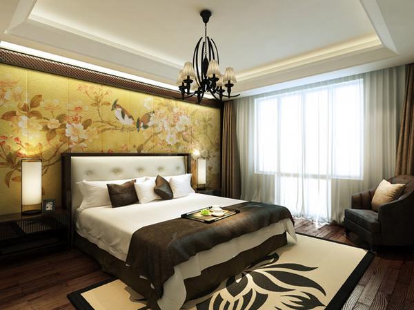 Asian Inspired Bedroom Decor 100