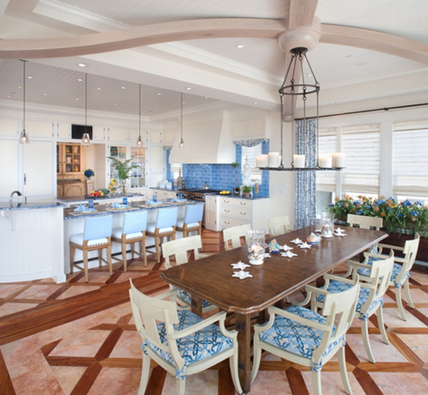 20 nautical home decoration in the dining room home for Waterfront retreat