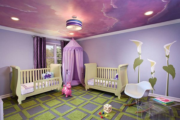 Whimsical Purple
