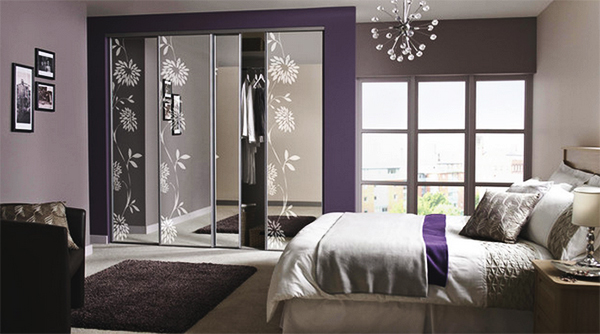 Purple Modern Master Bedroom home design: 20 master bedrooms with purple accents