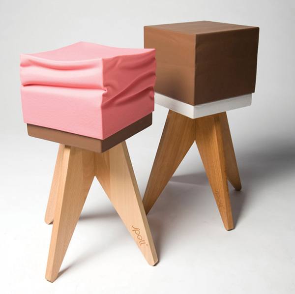 chocolate bench