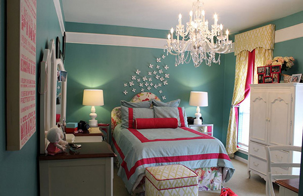 20 bedroom paint ideas for teenage girls home design lover - Deco chambre jeune fille ...