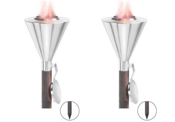 Modern outdoor torch