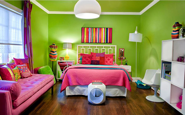 eclectic lime - Paint Colors For Bedrooms For Teenagers