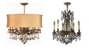 20 Antique Crystal Chandelier Designs