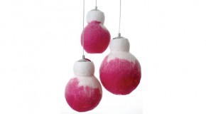 Felted Lighting Joins Wool and Metal for a Gorgeous Collection