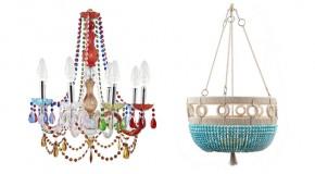 20 Impressive Beaded Chandelier Designs