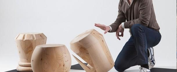 Interesting Chessmen Inspired Stool Designs by Giorgio Bonaguro