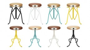 Geeky Alien Looking Companion Stools for a Fun Space