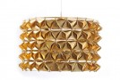 Beautiful Faceted Tactile Lights from Traditional Materials