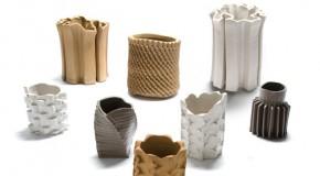 DDW13 Clay Vases from Floris Wubben