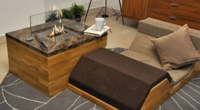 Coffee Tables and Fireplace in One from Flying Cavalries