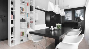 Minimalist Patterns and Textures in the M68 Apartment in Sosnowiec, Poland