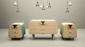 Unbuttoned Collection: Pin-Up Inspired Furniture