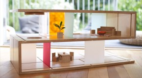 Qubis Haus: A Coffee Table and Dollhouse in One