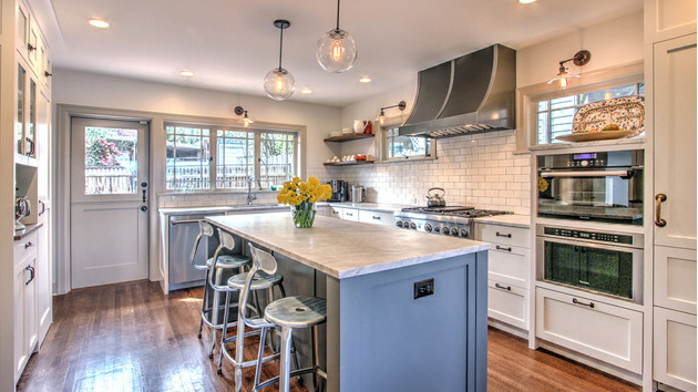 Before And After Seattle Kitchen Renovation With Added Lighting And Storage