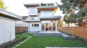 Ultra-High Efficiency Windows Employ  in the West 21st House in Vancouver, Canada