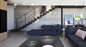 Modern Architectural Elements Reveals in the Y Duplex Penthouse in Israel