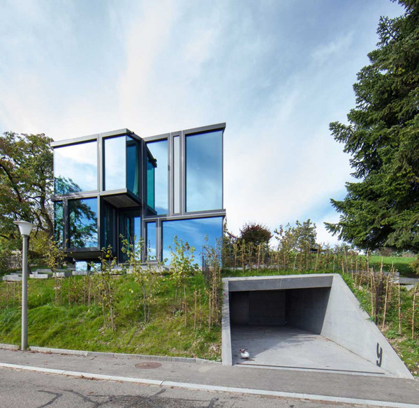 Enchanting and artistic style of the rebberg dielsdorf for Architecture zurich