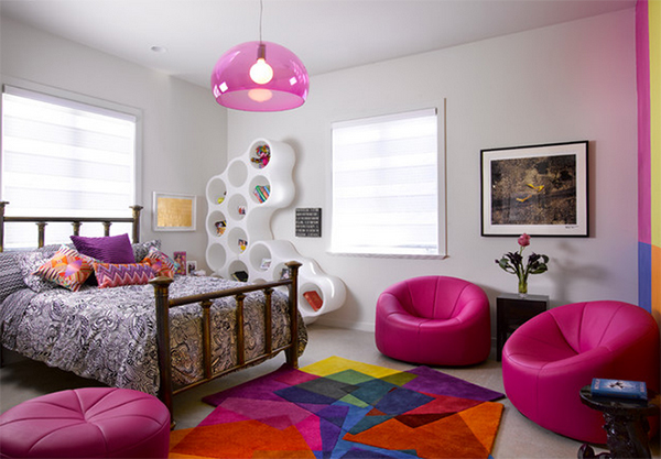 Girls Bedroom Lounge