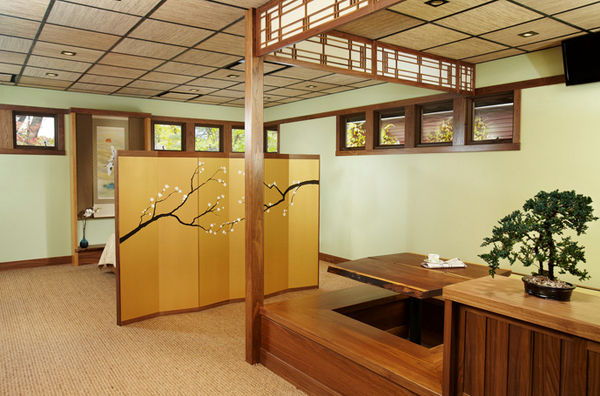 20 japanese home decorations in the dining room home - Calming zen house design bringing japanese style into singaporean home ...