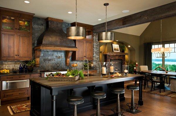 24 beautiful western kitchen decor home design lover - Western kitchen ideas ...