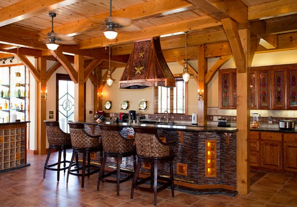 Rustic Texas Timber Frames