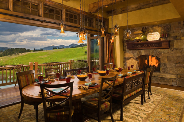 List Deluxe 20 Distinctive Western Dining Rooms - List Deluxe