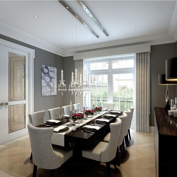Interior Bring Your Home Cohesive And Sophisticated Look: 20 Fine Dining Table Setup