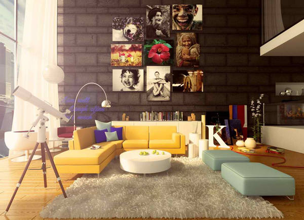 Finest Pop Decorating With Art Interior Design