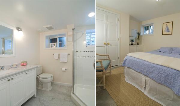 Cottage basement renovation