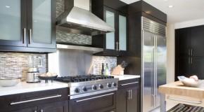 20 Gorgeous Glass Kitchen Cabinet Doors