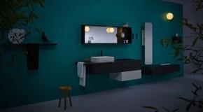Streamlined Modern Ingrid Modular Bathroom System Collection