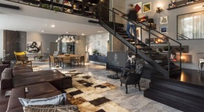 Contemporary Loft 44 in Brazil Highlights Design and Art