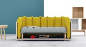 Re-Cinto Sofa: A Playful Unconventional Sofa Design