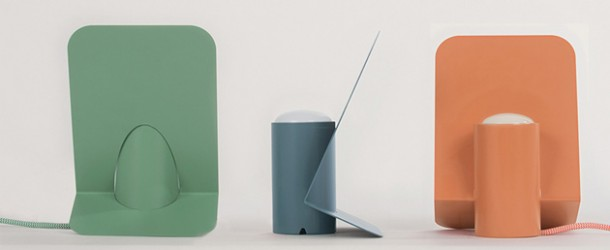 Modern Minimal Design of Vela Aluminum Lamp