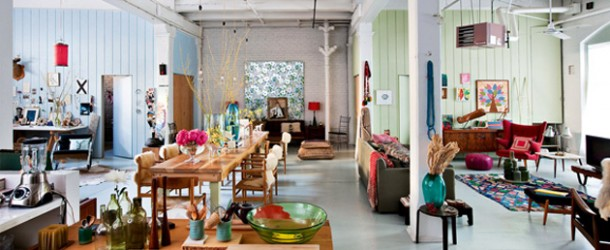 From Warehouse to a Modern Bohemian Home Showcasing a Creative Romantic Style