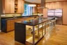 23 Wooden Finished Porcelain Tile Kitchen Floor