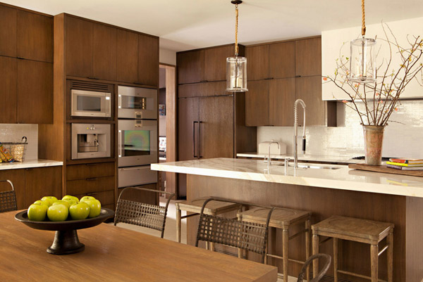 20 contemporary eco friendly kitchen designs home design for Eco friendly kitchen products