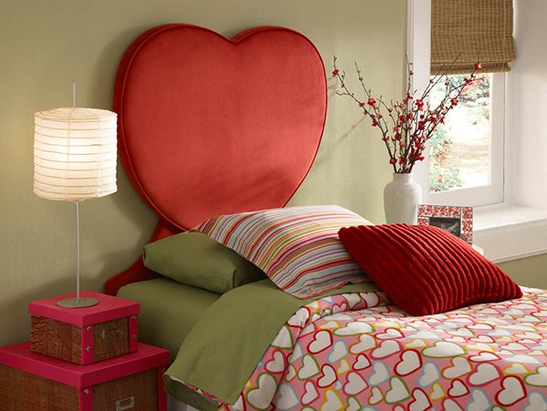 Heart-Shaped Bed Designs