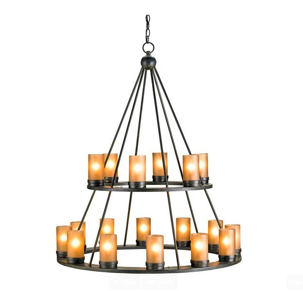 20 Lovely Outdoor Candle Chandeliers – Wrought Iron Candle Chandelier